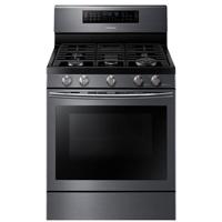 Samsung NX58J7750SG 5.8 Cu. Ft. Black Stainless Flex Duo Gas Range - NX58J7750SG/AA / NX58J7750SG - IN STOCK