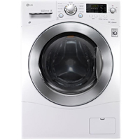 LG WM3477HW 2.3 Cu.Ft. White Compact All-in-One Washer/Dryer Combo - WM3477HW - IN STOCK