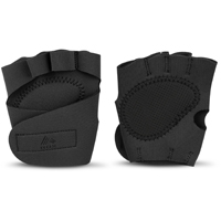 RBX Mesh Workout Gloves - Black - Size Large - RFA2324BL - IN STOCK