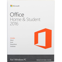 Microsoft Office Home & Student 2016 for Windows - 79G04368 - IN STOCK
