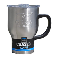 ORCA Coolers ORCCHACAF 20 oz Stainless Steel Chaser Cafe w/ Handle - CHASERCAFE / ORCCHACAF - IN STOCK