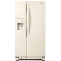 Whirlpool WRS322FDAT 22 Cu. Ft. 33 in. Width Bisque Side-by-Side Refrigerator - WRS322FDAT - IN STOCK