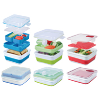 Cool Gear 17-Piece Expandable Food Storage Set - 1665 - IN STOCK