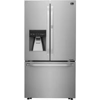 LG Studio LSFXC2476S 23.7 Cu.Ft. Stainless Door-in-Door Counter-Depth French Door Refrigerator - LSFXC2476S - IN STOCK