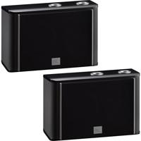 JBL 3-Way, 4 in. Bookshelf Speaker - Black (Pair) - ES10BK - IN STOCK