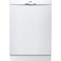Bosch Ascenta SHS5AV52UC 46dB White Scoop Handle Stainless Tub Dishwasher - SHS5AV52UC - IN STOCK