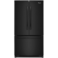 Whirlpool WRF535SWBB 24.8 Cu.Ft. Black French Door Refrigerator - WRF535SWBB - IN STOCK