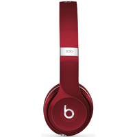 Beats By Dr. Dre Solo2 On-Ear Headphones (Red) - SOLO2LUXERED - IN STOCK