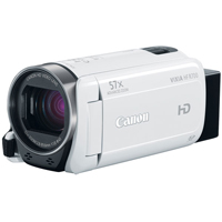 Canon VIXIA HF R700 Camcorder (White) - 1238C002 / HFR700WH - IN STOCK