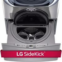 LG 1.0 Cu. Ft. Graphite SideKick� Pedestal Washer - WD100CV - IN STOCK