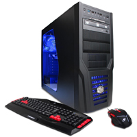CYBERPOWERPC Gamer Xtreme Intel i3-6100 Processor, 8GBRAM, AMD R7 240 2GB, 1TB HDD, Windows 10 Desktop Computer - GXI9700 - IN STOCK