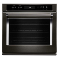 Kitchen Aid KOSE500EBS 30 in. Black Stainless Convection Single Wall Oven - KOSE500EBS - IN STOCK