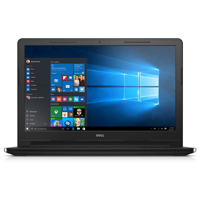 Dell 15.6 in. Inspiron Intel Celeron N3050, 4GB RAM, 500GB HDD, Windows 10 Notebook - I35524042BLK - IN STOCK