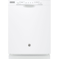 G.E. GDF520PGJWW 15 Place Setting Front Control White Dishwasher - GDF520PGJWW - IN STOCK