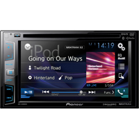 Pioneer 6.2 in. Display DVD Receiver, Bluetooth�, Siri� Eyes Free - AVHX3800 - IN STOCK