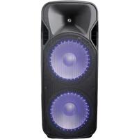 Britelite Dual 15 in. 4500 Watt Bluetooth, LED Light Party Speaker - M5500 - IN STOCK