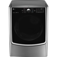 LG DLEX5000V Electric 7.4 Cu. Ft. Graphite Front Load Steam Dryer - DLEX5000V - IN STOCK