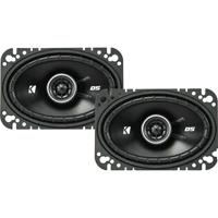 Kicker DS Series 4 in.x6 in. 2-way car speakers - 43DSC4604 - IN STOCK