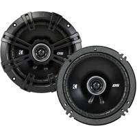Kicker DS Series 6-1/2 in. 2-way car speakers - 43DSC6504 - IN STOCK