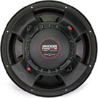 Kicker 12 in. subwoofer with dual 4-ohm voice coils - 43CVR124 - IN STOCK