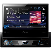 Pioneer 1-DIN DVD Receiver with 7 in. Flip-out Display, Spotify�, and AppRadio One� - AVHX6800 - IN STOCK