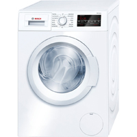 Bosch 300 Series WAT28400UC 2.2 Cu.Ft. 24 in. Width White Front Load Washer - WAT28400UC - IN STOCK