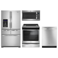 Whirlpool 4 Pc. Stainless Kitchen Package - WRV986STKIT - IN STOCK
