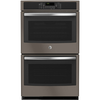 G.E. JT5500EJES 10 Cu. Ft. Electric Slate Double Wall Oven - JT5500EJES - IN STOCK
