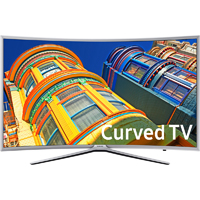 Samsung UN55K6250 55 in. Smart 1080p Motion Rate 120 Curved LED HDTV - UN55K6250AFXZA / UN55K6250 - IN STOCK