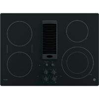 G.E. Profile PP9830DJBB 30 in. Black Electric Downdraft Cooktop - PP9830DJBB - IN STOCK