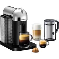 Nespresso VertuoLine Coffee & Espresso Maker w/ Aeroccino+ Milk Frother, Chrome - A+GCA1-US-CH-NE / A+GCA1USCHNE - IN STOCK