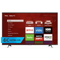 TCL 50UP130 50 in. Smart 4k Ultra HD 120Hz Roku LED UHDTV - 50UP130 - IN STOCK