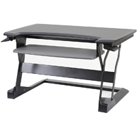ErgotronHome Workspace Lift 35 Sit or Stand Adjustable Desk - LIFT 35 BASIC BLACK / LIFT35BK - IN STOCK