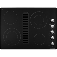 Kitchen Aid Architect KECD807XBL Electric 4 Element Black Downdraft Cooktop - KECD807XBL - IN STOCK