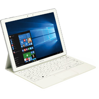 Samsung Galaxy TabPro S 12 in., Intel Core m3-6Y30, 4GB RAM, 128GB SSD, Windows 10 White Tablet PC - SMW700NZWAXA - IN STOCK