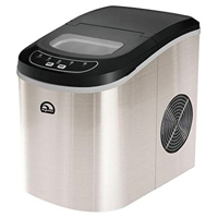 IGLOO Counter Top Stainless Ice Maker - ICE102ST - IN STOCK