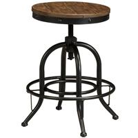 Ashley Signature Design Pinnadel Brown Bar Stool (Set of 2) - D542-224 - IN STOCK