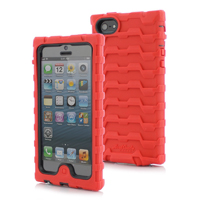 Hard Candy Shock Drop iPhone 5 Case - Red - SD5-RED-BLK / SD5REDBLK - IN STOCK