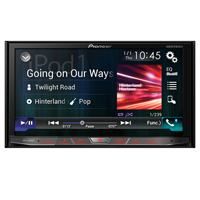 Pioneer 2-DIN Flagship Multimedia DVD Receiver with 7 in. WVGA Touchscreen Display - AVH-4200NEX / AVH4200 - IN STOCK