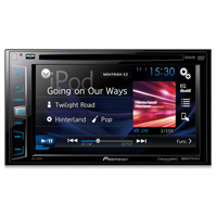 Pioneer DVD Receiver with 6.2 in. Display, SiriusXM-Ready�, Spotify�, and AppRadio One� - AVH-X1800S / AVHX1800 - IN STOCK
