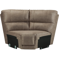 Ashley Signature Design Bohannon Taupe Sectional Wedge - 5740377 - IN STOCK