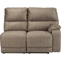 Ashley Signature Design Bohannon Taupe Sectional Right Arm Reclining Power Loveseat - 5740375 - IN STOCK