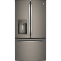 G.E. GFE28GMKES 27.8 Cu. Ft. Slate French-door Refrigerator - GFE28GMKES - IN STOCK
