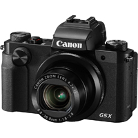 Canon PowerShot G5 X 20MP 4.2x Zoom Black Digital Camera - G5 X / 0510C001 / G5 - IN STOCK
