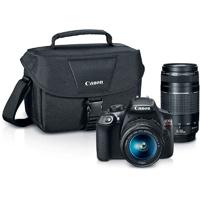 Canon EOS Rebel T6 Digital SLR Camera with EF-S 18-55mm IS II + EF 75-300mm f/4-5.6 III Bundle - 1159C008 / T6BUNDLE - IN STOCK