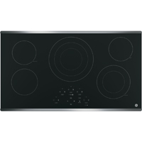 G.E. JP5036SJSS 36 in. Electric 5 Element Black Cooktop - JP5036SJSS - IN STOCK