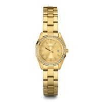Caravelle New York Womens Gold Finish Watch - 44M108 - IN STOCK