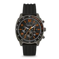Caravelle New York Mens Gunmetal Finish Chronograph Watch - 45B141 - IN STOCK