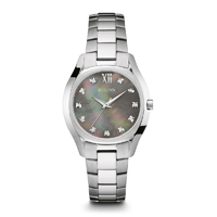 Bulova Womens Stainless Steel Diamond Watch - 96P158 - IN STOCK