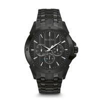 Bulova Mens Black Finish Watch - 98C121 - IN STOCK